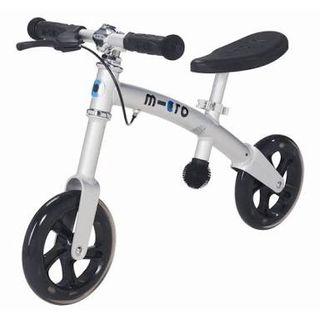Bicicleta sin pedales y con freno marca MICRO