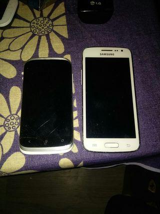 Samsung, htc, para piezas, no enciende las batería