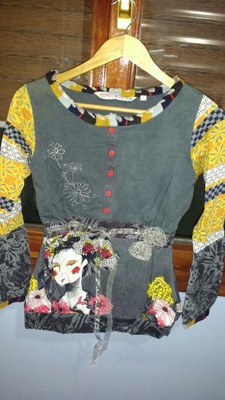 Zara chaqueta patchwork de segunda mano por 45 € en Ametzola