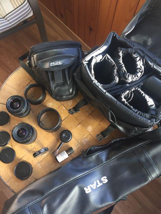 Camara Canon EOS 1000F