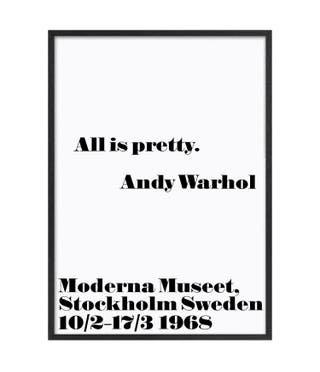 Andy Warhol - All is Pretty