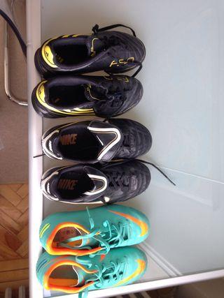 Nike Adidas fútbol niño talla 31