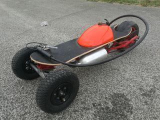 Monopatin patin trike motor gasolina(49c.c.)