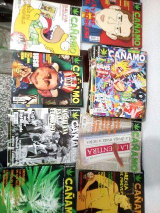 revista cañamo 20tomos ,coleccion