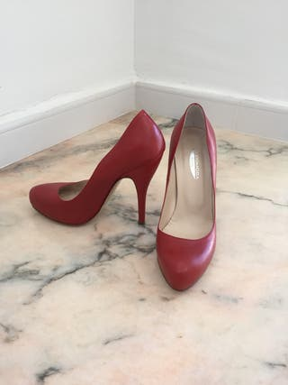 Zapatos italianos de piel 38
