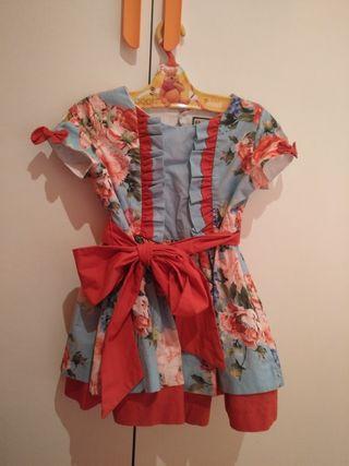vestido nekenia talla 5(talla pequeño)