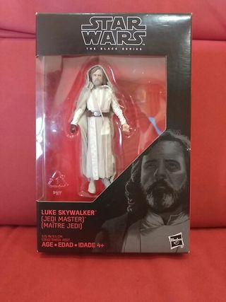 """STAR WARS 3.75"""" TBS Luke Skywalker Jedi Master"""