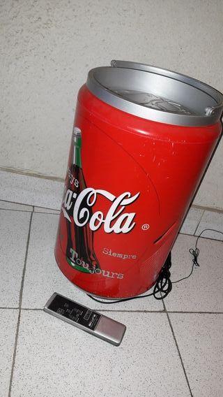 Mini cadena Coca Cola