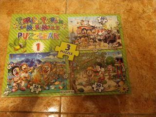 puzzles de pirritx eta porrotx