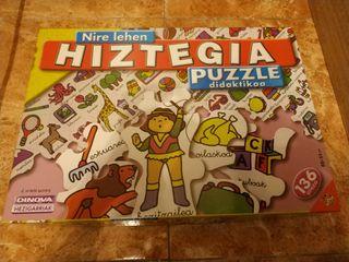 puzzle.Nire lehen hiztegia