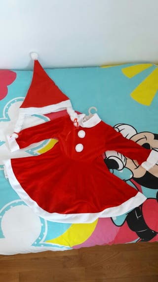 Disfraz mama Noel con gorro