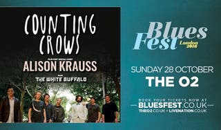 BluesFest ticket Counting Crows, Alison Kraus