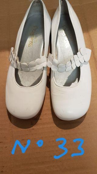 zapatos nuevos num33 de comunión