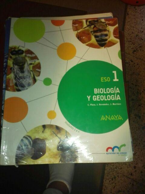 biología y geología 1 de eso
