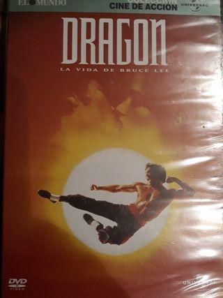 D.VD Dragon,la vida de Bruce Lee