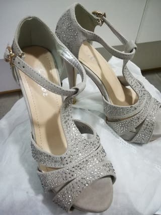 zapatos de novia de segunda mano en la provincia de girona en wallapop