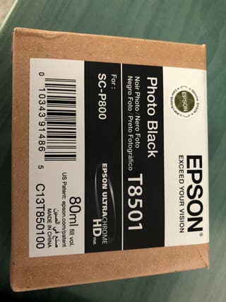Tinta Epson T8501 para impresora SC-P800