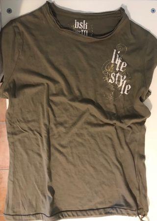 Camiseta, talla M, Bershka.