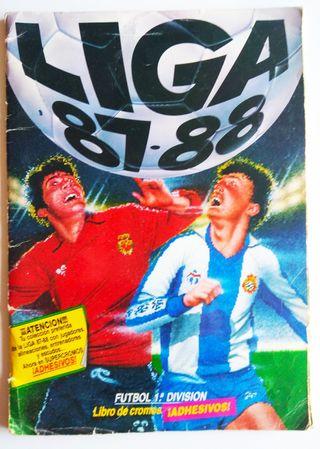 Álbum cromos Este Liga 87-88