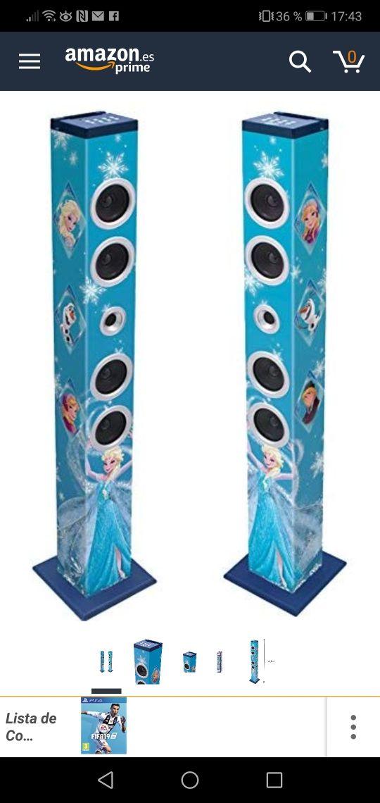 torre de sonido frozen