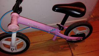 bici niña sin pedales