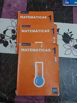 libros de matematicas de 1 eso