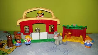 GRANJA CON SONIDO LITTLE PEOPLE.