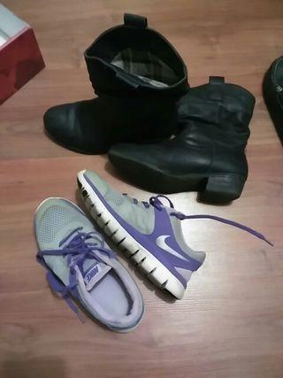 Nike T 35'5 botas T 36