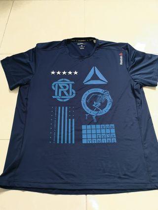 Camiseta Reebok XL entrenamiento crossfit