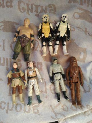 Star Wars figuras de 1977- 80 - 83-84
