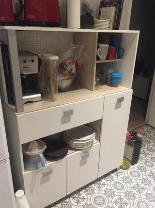 Mueble de cocina de segunda mano en barcelona en wallapop for Busco muebles de cocina de segunda mano