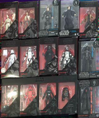 Lote de figuras black series