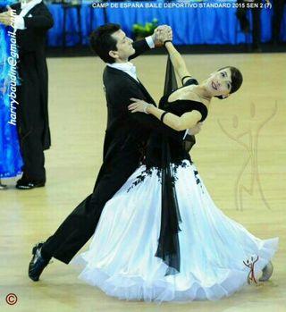 vestido de baile deportivo