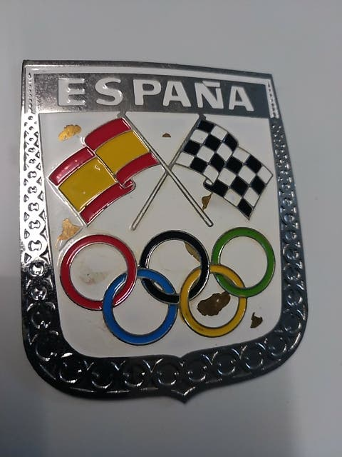 Chapa metálica de España Olimpiadas