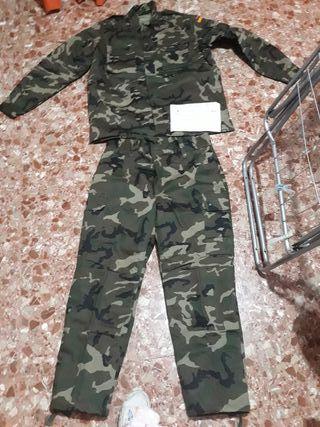 traje militar para frio