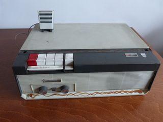 Magnetófono / Grabador Vintage Philips años 60.