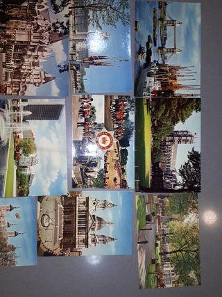 Postales J.Arthur Dixon, Londres