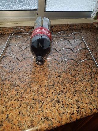 Botellero acero inoxidable frigorífico o encimera