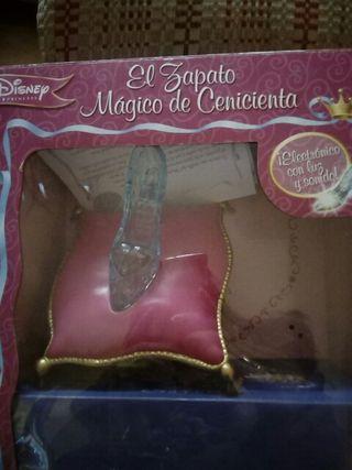 El zapato mágico de Cenicienta