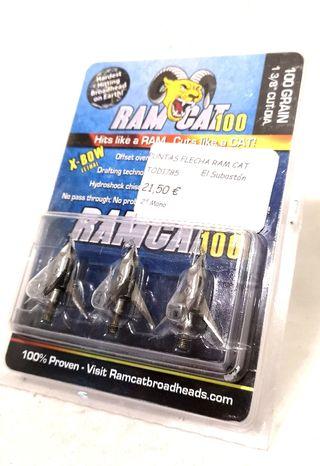 PUNTAS DE FLECHA RAM CAT 100