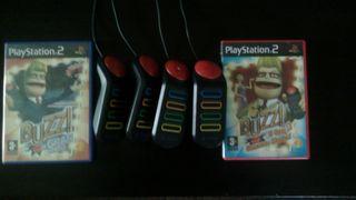 Pulsadores BUZZ+Juegos