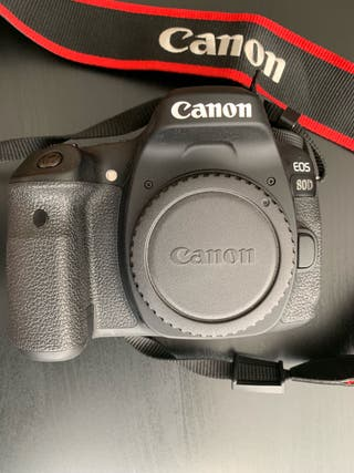 CANON EOS 80D including two lenses