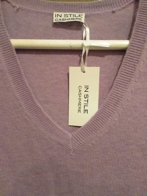 jersey de cashmere mujer talla L