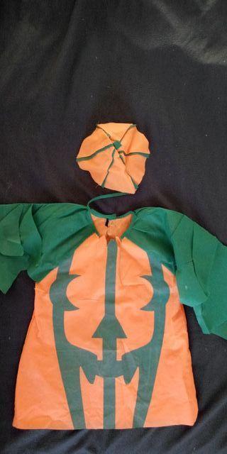 disfraz de calabaza para halloween