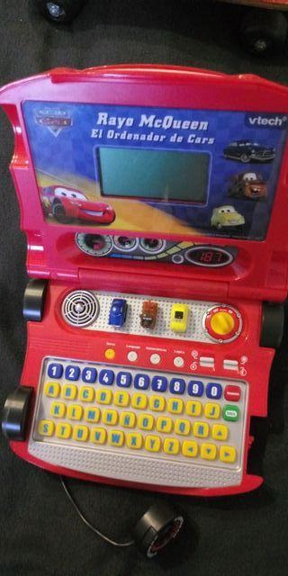ordenador de juguete cars rayo mc queen