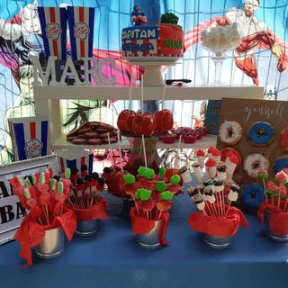 CANDY BAR, PHOTOCALL, DONUTS TABLE...