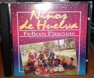 CD NIÑOS DE HUELVA FELICES PASCUAS VILLANCICOS