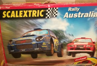 Scalextric Rally Australia.