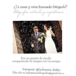 reportaje fotográfico bodas