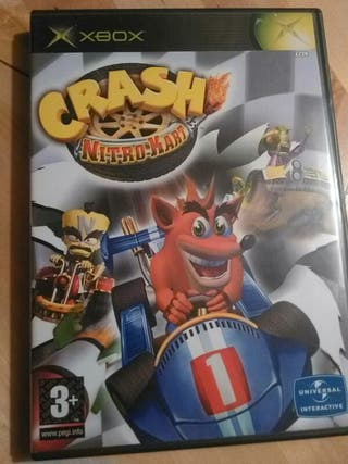 Crash Nitro Kart Videojuego Xbox